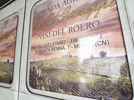 Monta, Italia: Vini del Roero