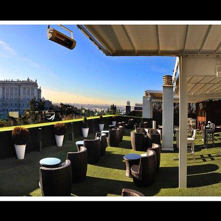 Maravillosa Terraza Picture Of Apartosuites Jardines De