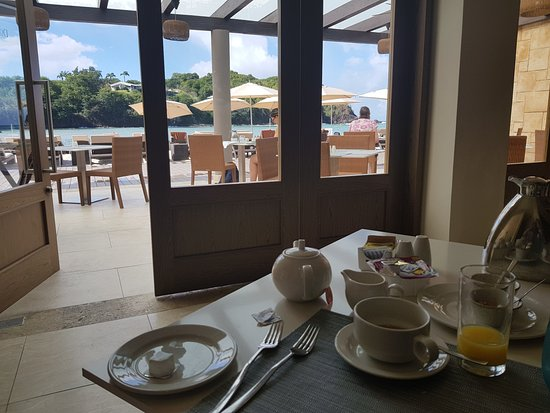 Cap Estate, St. Lucia: Breakfast at Dorado's