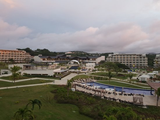 Cap Estate, St. Lucia: View of resort from room building 2 floor 3