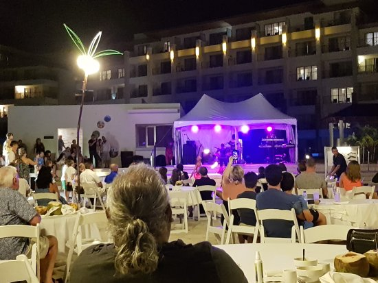 Cap Estate, St. Lucia: Beach Party on Monday Night