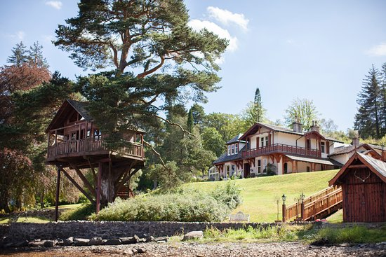 The Lodge on Loch Goil, Treehouse & Boathouse