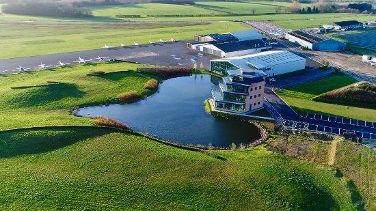 Brackley, UK: Aerial View
