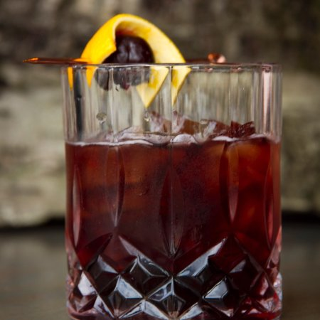 Nosh Eatery and Tap: Smoked Cherry Old Fashioned