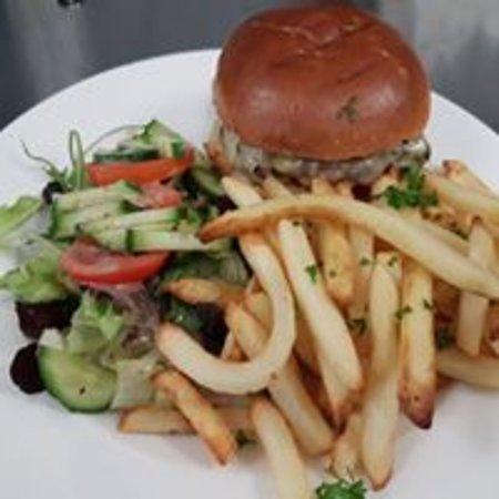 Brackley, UK: Flight Deck Burger
