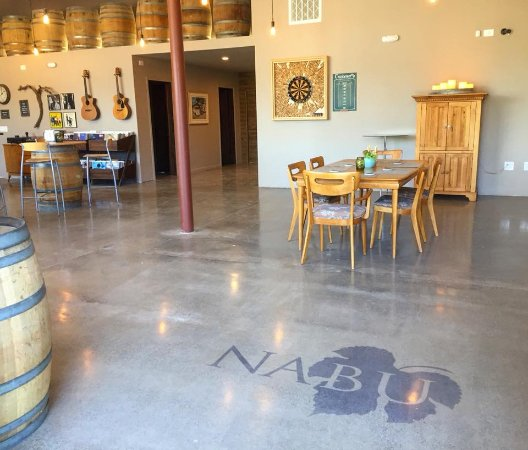 Nabu Wines: new tasting room