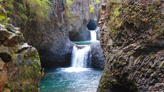 Molina, Чили: Parque Nacional Radal Siete Tazas