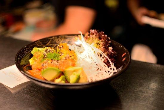 ShanghaiTan: avocado sashimi salad