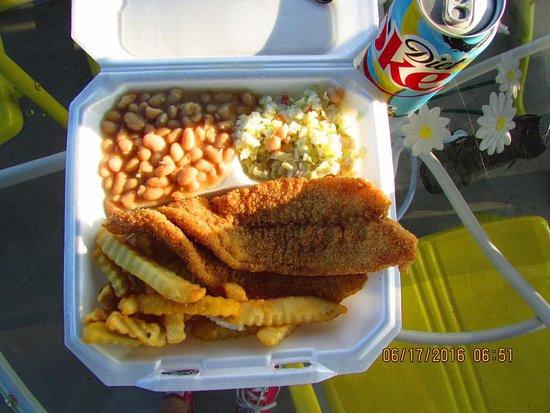 Chapmansboro, Теннесси: Catfish to go
