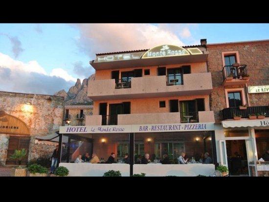 Ota, França: Hotel restaurant Monte Rosso