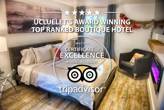 The Francis Boutique Inn: Ucluelet's Boutique Hotel - Award Winning Top Ranked - Top 25 Small Hotels In Canada