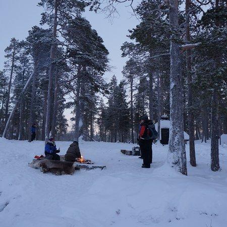 Nellim Wilderness Hotel: At the Inari lake 😍