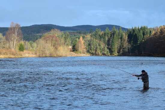 Dunkeld, UK: Fly fishing Scotland