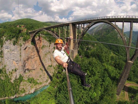 Zabljak, Montenegro: Srdjan Pejovic selfie