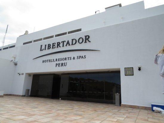 Libertador Lake Titicaca: Portaria do hotel