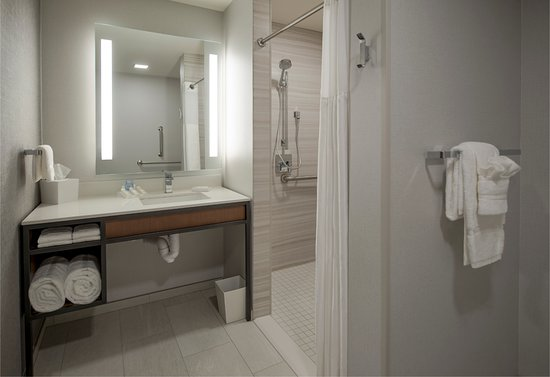 Wausau, WI: Accessible Bathroom with Roll-In Shower