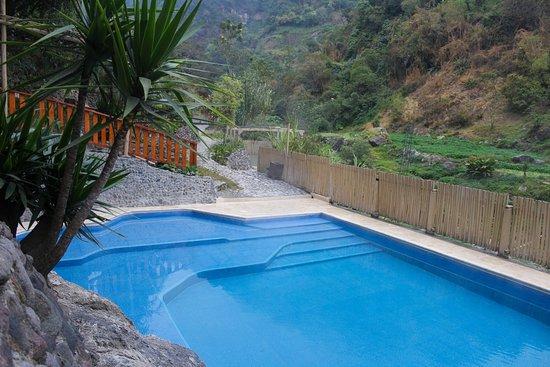 San Marcos, กัวเตมาลา: Piscina con 3 niveles para poder descansar sentado o acostarse