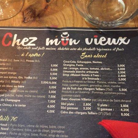 Restaurent Le Bon Vieux Valenciennes