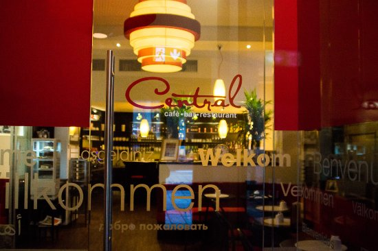 Café Central - Café. Bar. Restaurant: Eingang