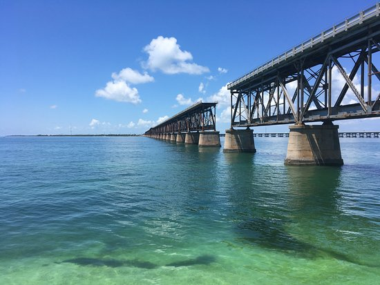 Bahia Honda State Park And Beach View From