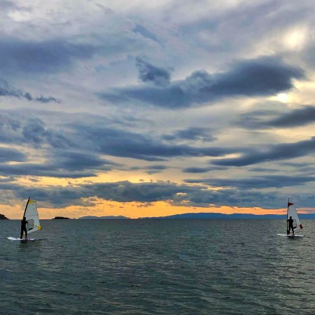 Voula, Yunani: Bewindsurfer moments !
