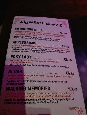 Mourisco Cocktail Bar: Delicous Porn Star Martini at Mourisco