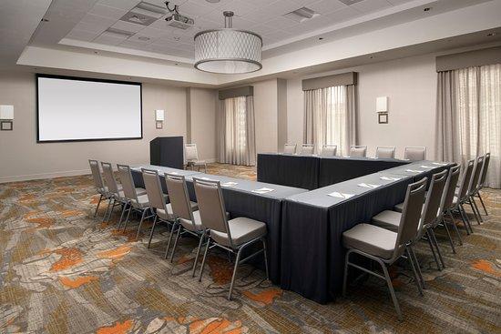 Meeting Space Picture Of Hilton Garden Inn San Antonio Downtown San Antonio Tripadvisor