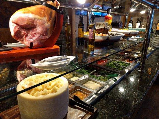 Nazareth, PA: Salad Bar - over 40 items