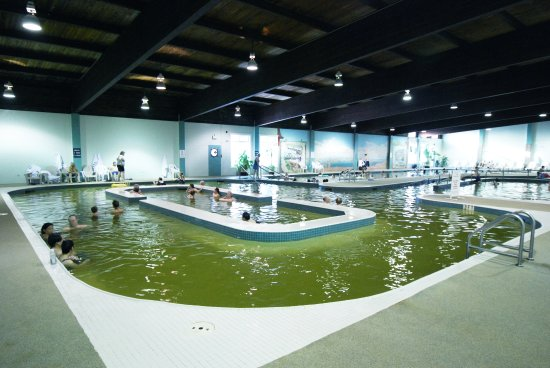 Manitou Beach, Canada: The Dead Sea of Canada - highly mineralized indoor mineral pool