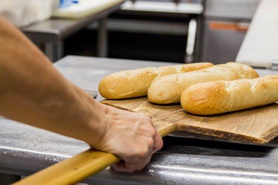 Pocono Pines, PA: Freshly baked bread