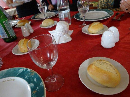 Restaurant La Cloche : Mesa