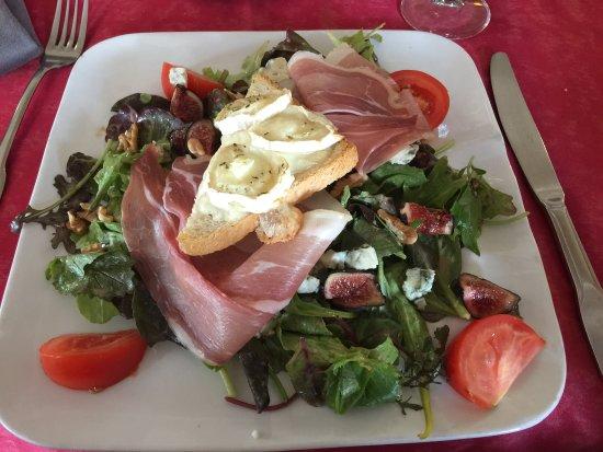 Restaurant La Cloche : Salada