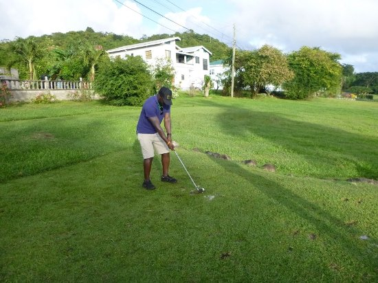 Grand Anse, Grenada: Grenada Golf and Country Club - On the Course