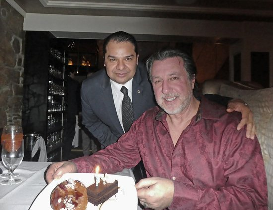 ROSARIO CASSATA WITH MANGER AMONDO AT RARE 650 SYOSSET NEW YORK