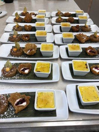 Traditional Filipino dessert, Letche Flamme, Biko, Sugar Snap Basket