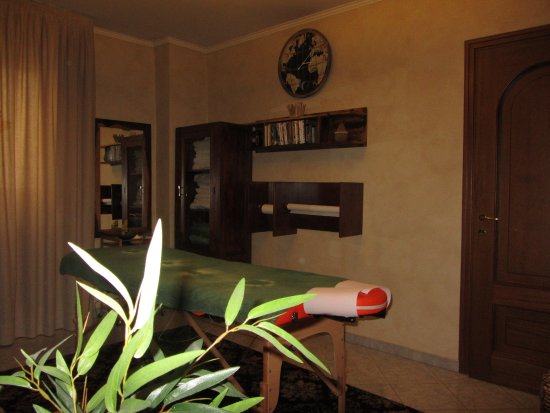 Chieri, Italy: Massage room