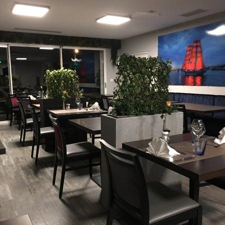 La r ception et l 39 entr e du restaurant photo de h tel - Restaurant l aigle d or azay le rideau ...