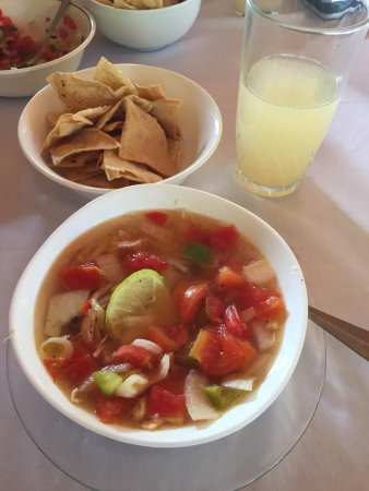 Santa Elena, México: Sopa de Lima is so good !!!!!
