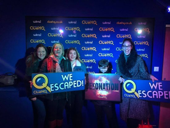 Birkenhead, UK: We escaped!!