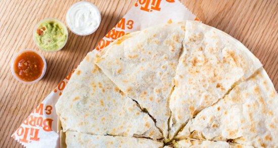 Tito's Burritos & Wings: JUMBO Quesadilla