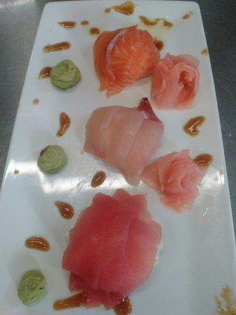 Rochester, Indiana: Sashimi!!!