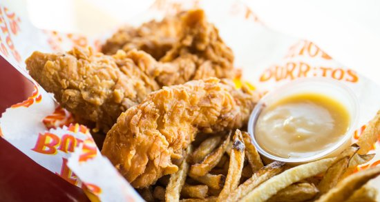 Summit, NJ: Rippin Strips with Fries meal