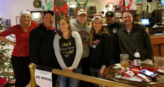 "Newport, WA: ""Griz Quiz"" winners at our Maws & Paws Booster Club fundraiser."