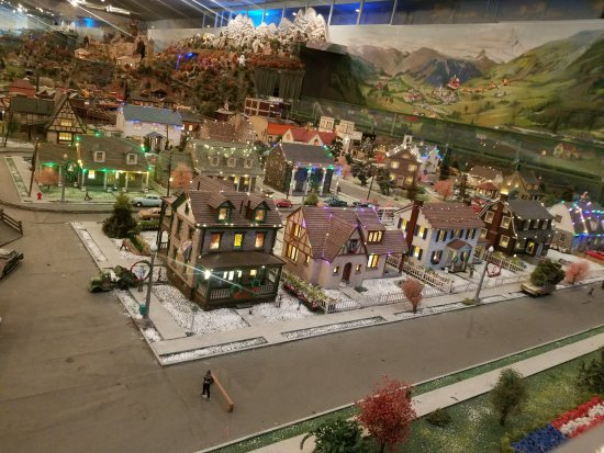 Shartlesville, Pensilvania: Just a small part of the huge display