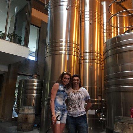 Bodega Cruzat: Atendimento maravilhoso, fantástico a elaboração artesanal dos espumantes e a Liliana que nos re