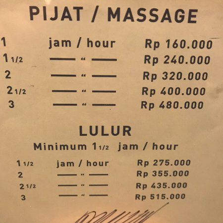Bersih Sehat Spa (Jakarta) - 2019 All You Need to Know