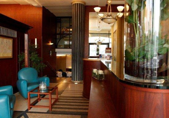 Superbe Hotel Art Deco Euralille: Bar/Lounge