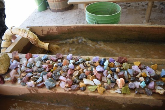 Elijah Mountain Gem Mine: All of these come from one bucket!