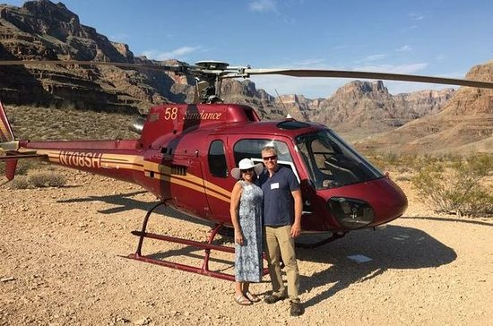 Helikopterturen Grand Canyon All...