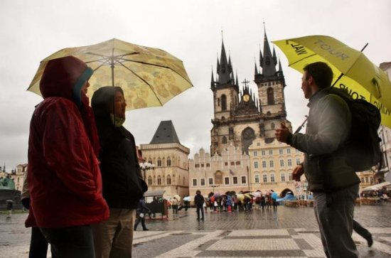 Small-Group Walking Tour of Prague's...